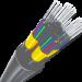 Icone de fibre optique pour vpn