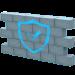 Mur représentant un firewall de sécurité vpn