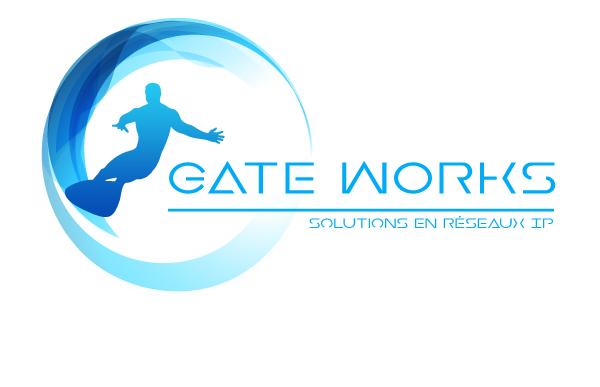 Logo de la société Gate Works spécialisée en solutions de réseaux IP VPN