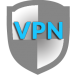 Icone d'un bouclier de sécurite vpn
